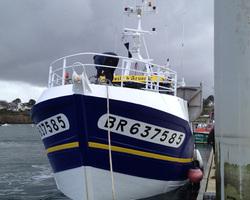 Les Viviers De Bassinic - Plouguerneau - De la mer à l'assiette - Les bateaux de pêche - L'Étoile d'Arvor II, Fileyeur